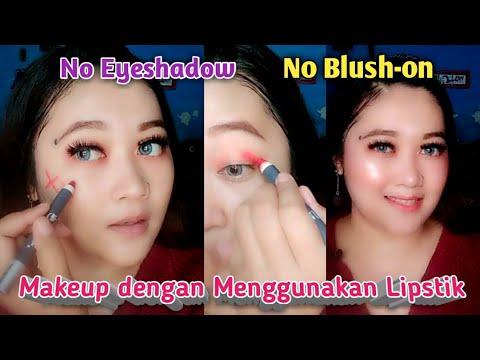 makeup-dengan-menggunakan-lipstik.