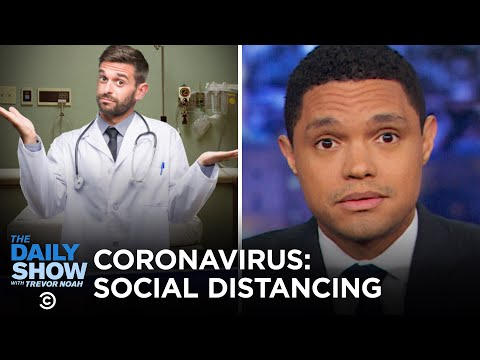 """Combatting Coronavirus with """"Social Distancing"""" 