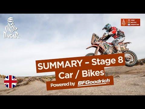Summary - Car/Bike - Stage 8 (Uyuni / Tupiza) - Dakar 2018