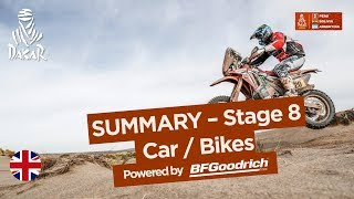 Summary - Car/Bike - Stage 8 (Uyuni / Tupiza) - Dakar 2018