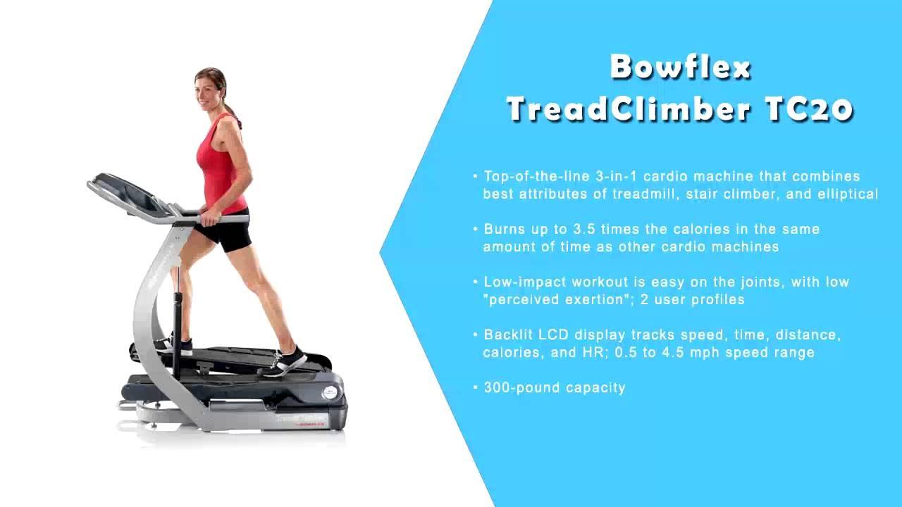 Bowflex TreadClimber Reviews TC10 TC20 TC100 TC200