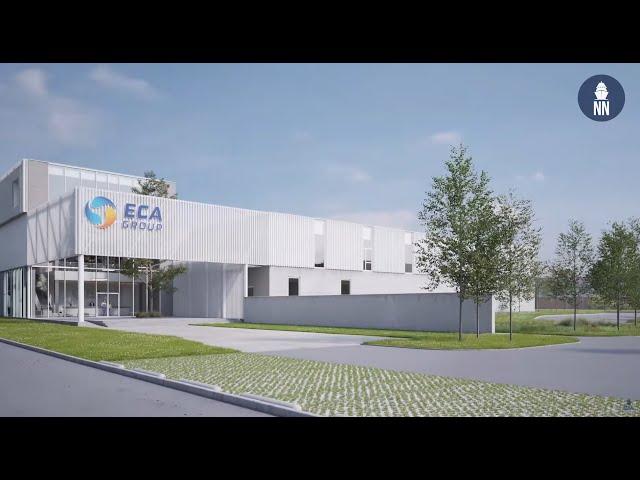 ECA Group's Mine Warfare Drone Factory Breaks Ground in Belgium