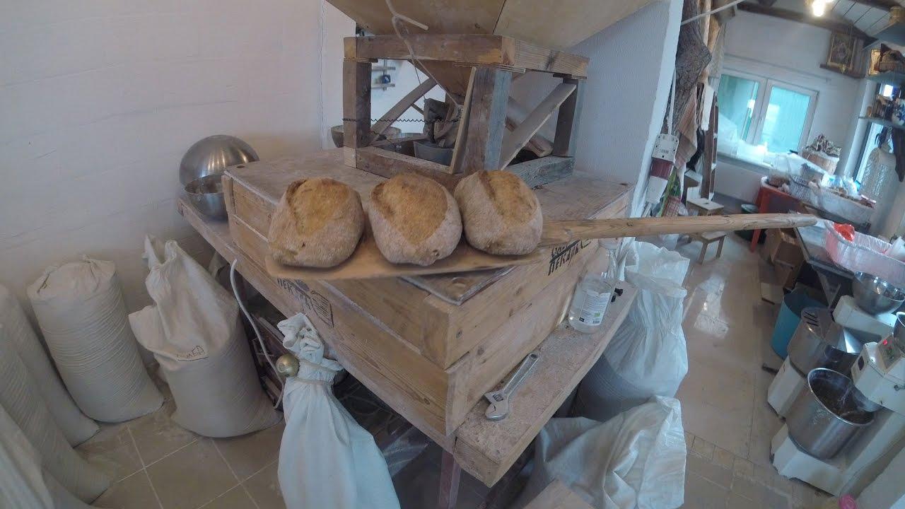 белый хлеб в русской печи рецепт