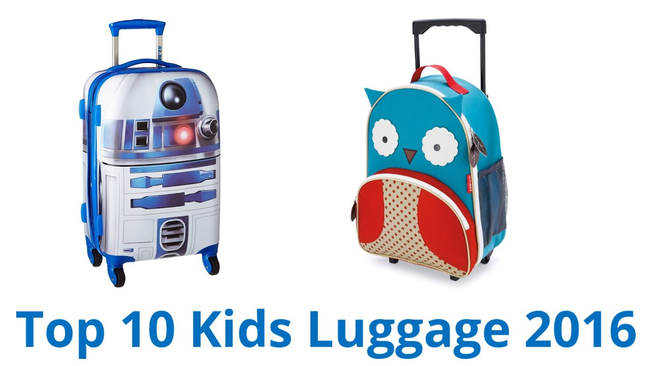 10 Best Kids Luggage 2016 - YouTube