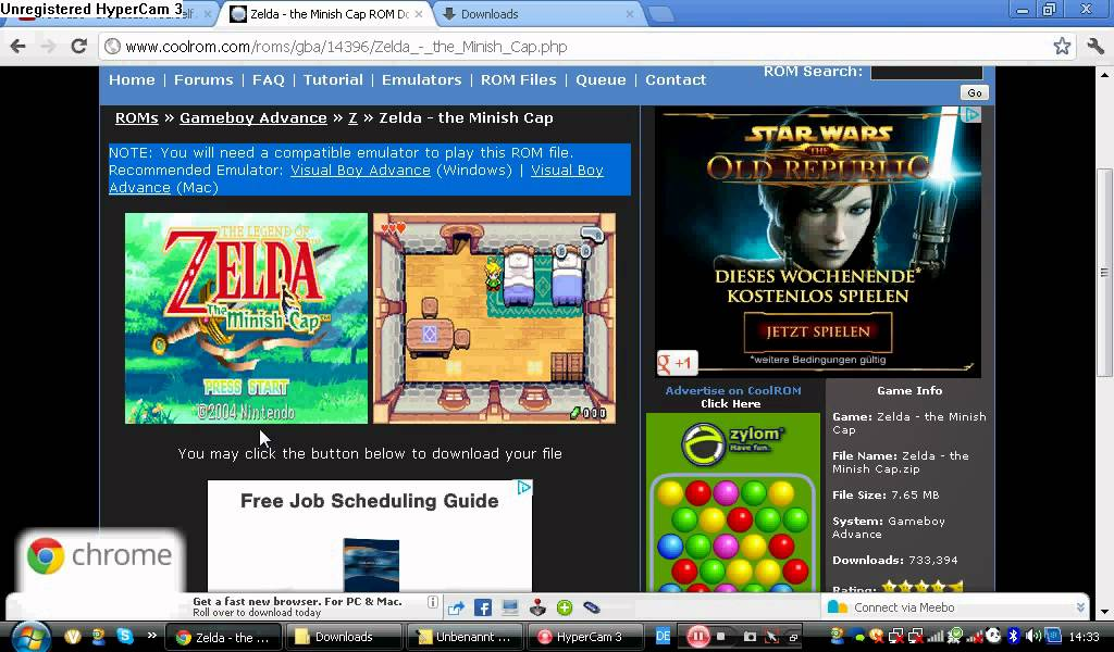 gameboy advance roms free download