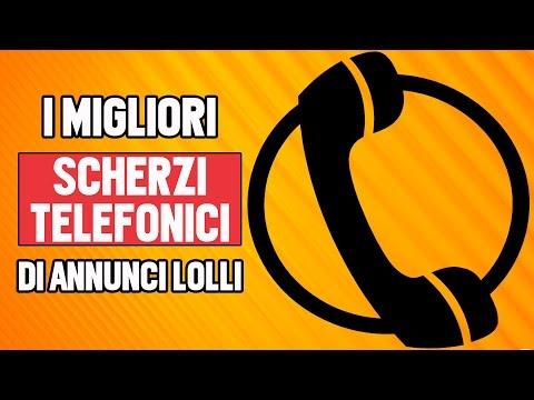 TROLLIAMO LA GENTE AL TELEFONO - SCHERZI TELEFONICI SUBITO.IT