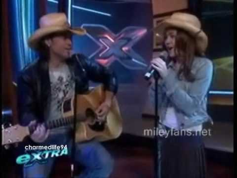 Billy Ray and Miley Cyrus - I learned from you