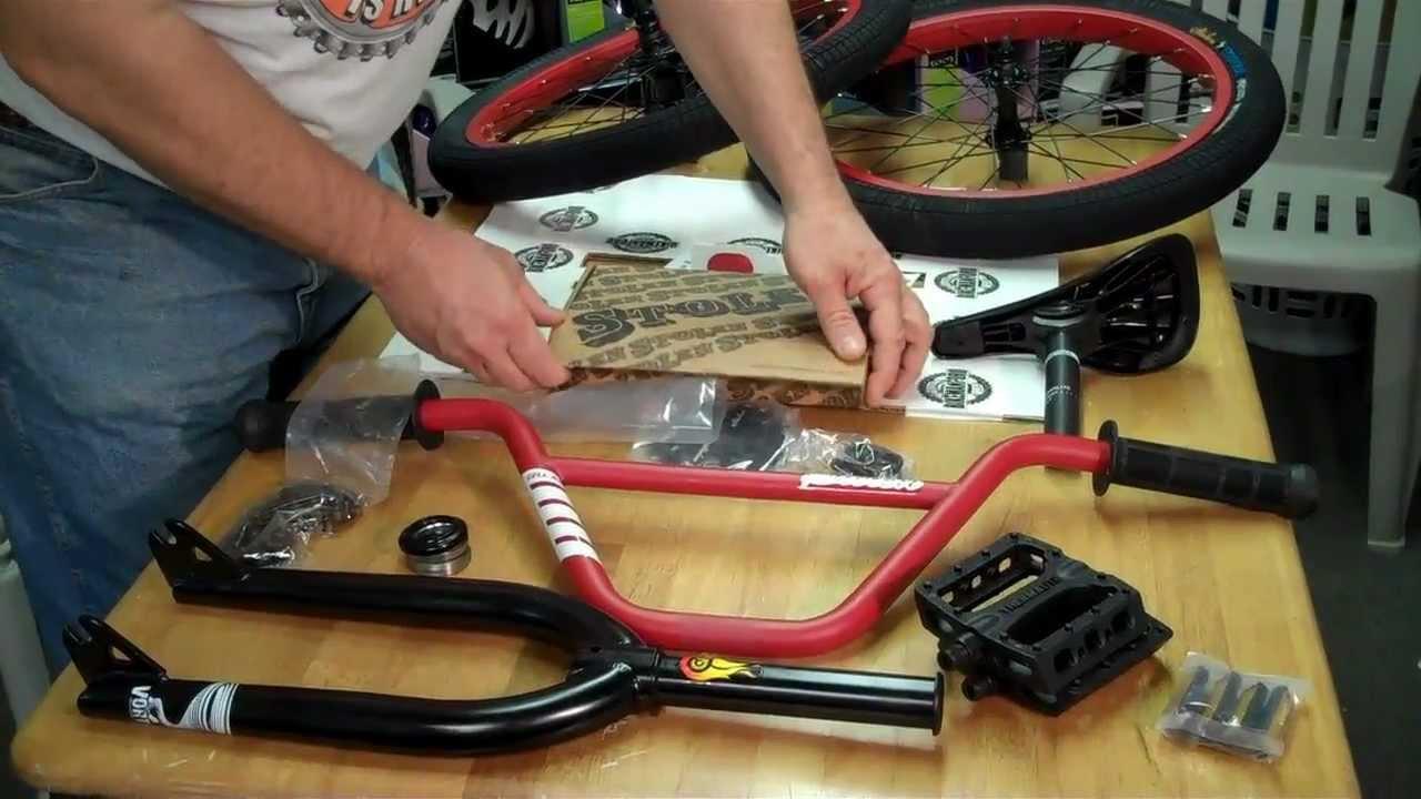 Stolen Sinner Bmx Bike Parts Kit What S Inside Youtube