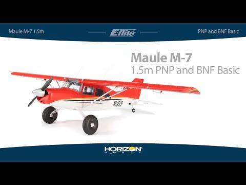 E-flite Maule M-7 1.5m PNP and BNF Basic with AS3X and SAFE Select