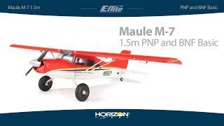 Е-Флайт Мауле М-7 в 1,5 м, PnP і БНФ з AS3X і безпечний вибір