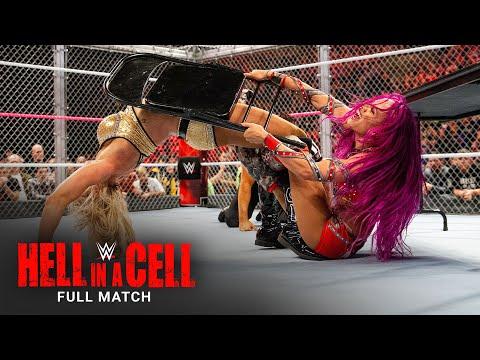 FULL MATCH - Sasha Banks vs. Charlotte – Raw Women's Title Hell in a Cell Match: Hell in a Cell 2016