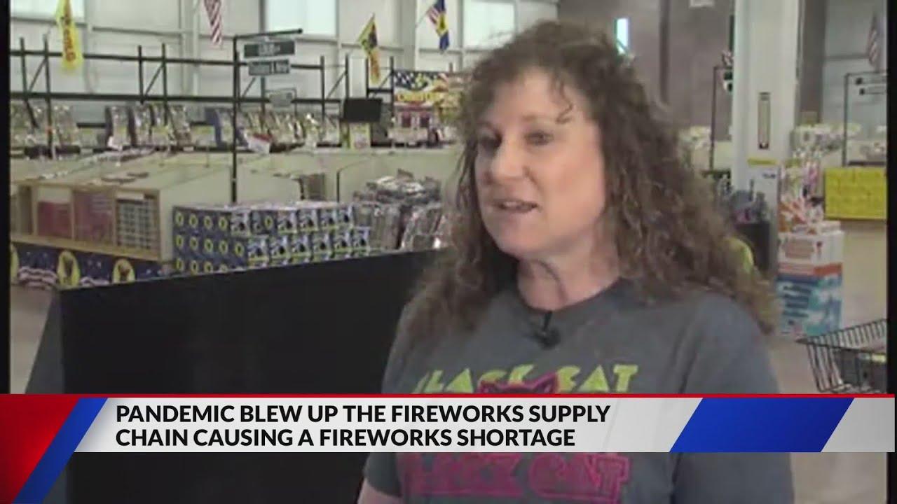 Firework shortage