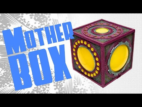 DC Comics Collectibles Jack Kirby Mother Box Review