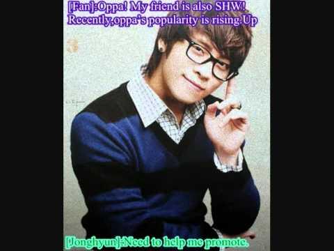 Jonghyun UFO replies 10.12.10.