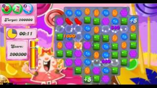 Candy Crush Saga Level 297 - 3 Stars - No Boosters Used