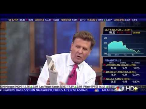 Joe Kernen compares The Wall Street Journal vs The NY Times