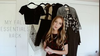 My Fall Clothes Essentials Rack | ZaraForever Thumbnail