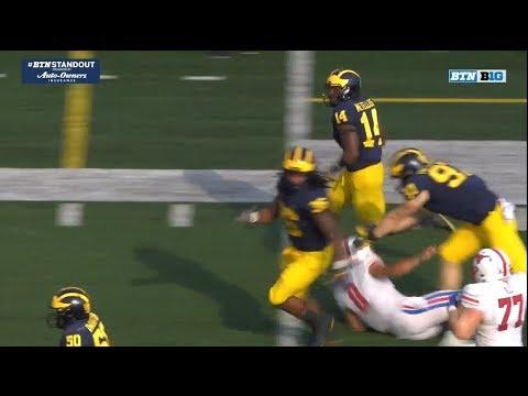 2018 Michigan Football Highlights v. SMU