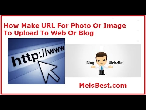 how to make an image url