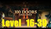 100 Doors Challenge 2 Level 20 Walkthrough 100 Dverej Epichnyj Pobeg Youtube