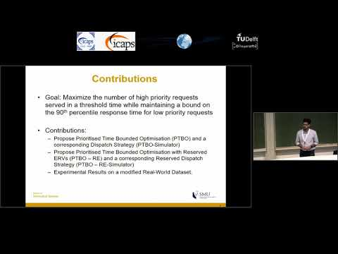 "ICAPS 2018: Muralidhar Konda on ""Reserved Optimisation: Handling Incident Priorities in ..."""