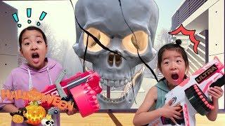 해골이 나타났다 할로윈 파티 신비아파트 아엘튜브 Halloween Night of the Skeleton! Aeltube