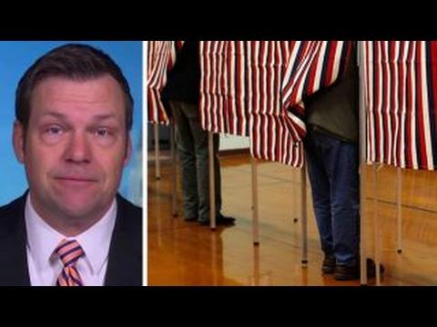 Kris Kobach talks media coverage of voter fraud