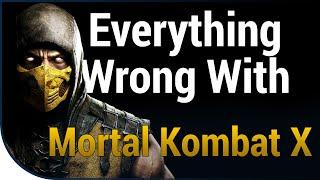 GAME SINS | Everything Wrong With Mortal Kombat X