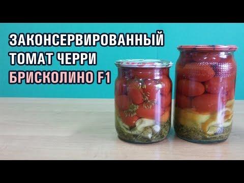 Законсервированный томат черри Брисколино F1 | брисколино | помидоров | томатов | помидор | семена | черри | томат | briscolino | тепл | в