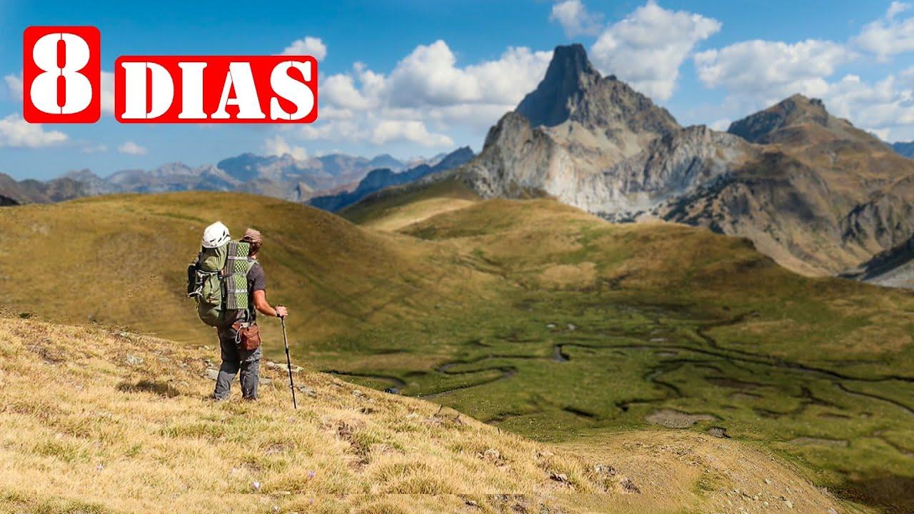 8 Días De Autosuficiencia Por La Montaña - Vivac en Pirineos