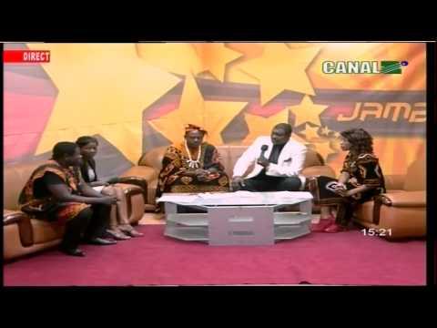 Moni Bilé sur JAMBO TV pour la soirée BINAM G12