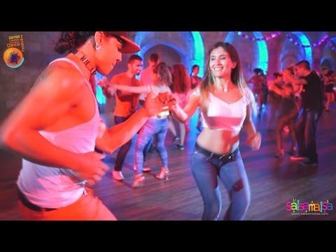 MARVIN RAMOS - ALICIA AVAKIAN SOCIAL SALSA   LEBANON DANCE FESTIVAL 2014