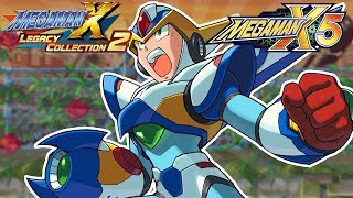 Mega Man X Legacy Collection 1 + 2: Mega Man X5 FULL GAME! (Switch, Xbox One, PS4, PC)