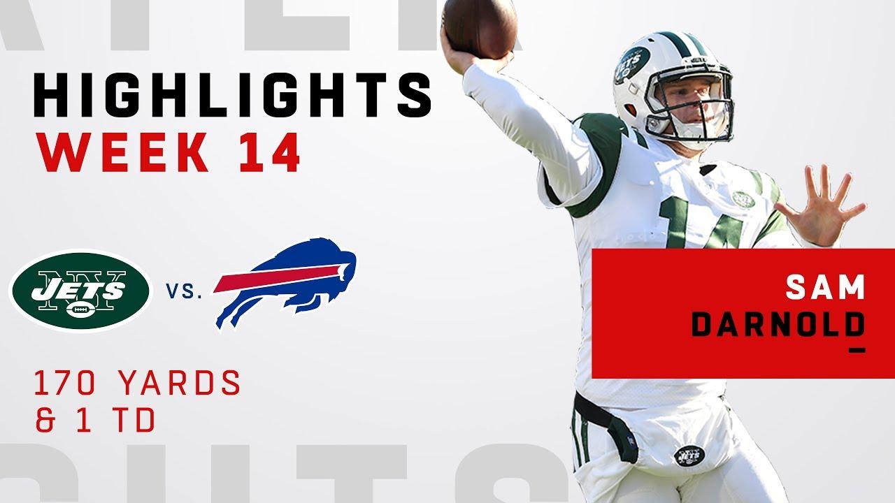 Sam Darnold Highlights vs. Bills