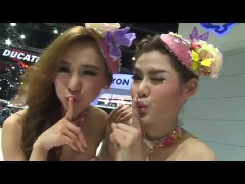 SsangYong LADY's @ 35 th Motor Show 2014 : Version PiNK LADY's