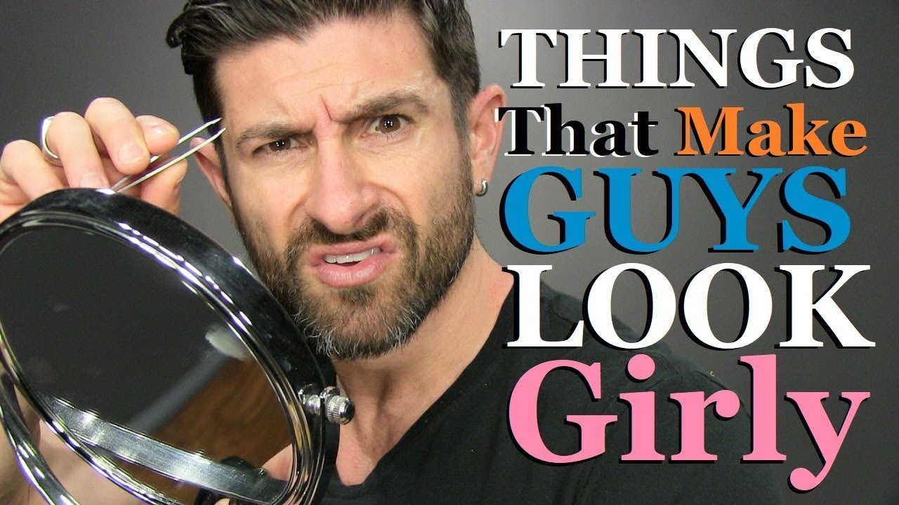 abcd640151f Top 10 Things That Make Guys Look GIRLY! - YouTube