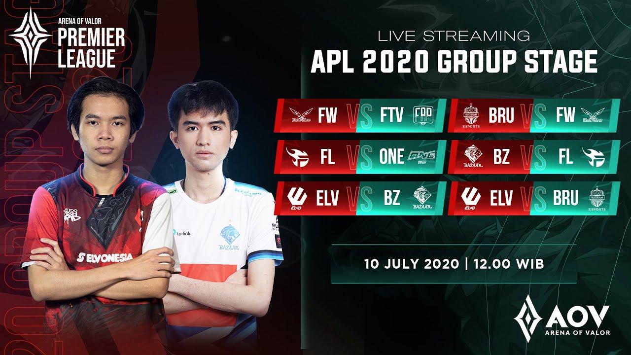 BAZAAR Gaming vs Team Flash - Group B - APL 2020