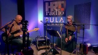 IRENA & MAURO GIORGI ACOUSTIC - LIVE PERFORMANCE ON HRT RADIO PULA (2015)