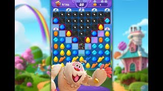 Candy Crush Friends Saga Level 496 (3 stars, No boosters)