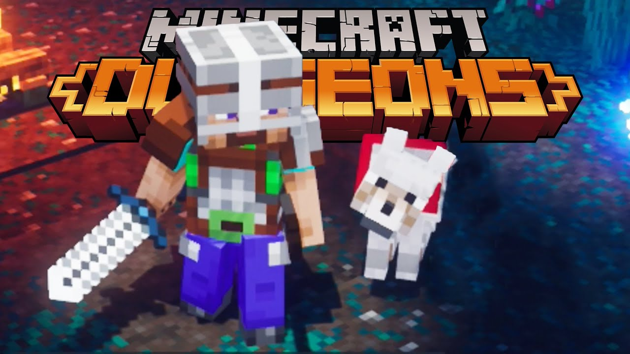 I Got A Dog In Minecraft Dungeons Closed Beta Youtube