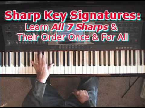 Sharp Key Signatures: Learn All 7 Sharps & Their Order Once & For All!