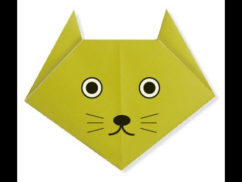 Step By Step Instructions How To Make Origami A Cat. Stock Vector ... | 360x480