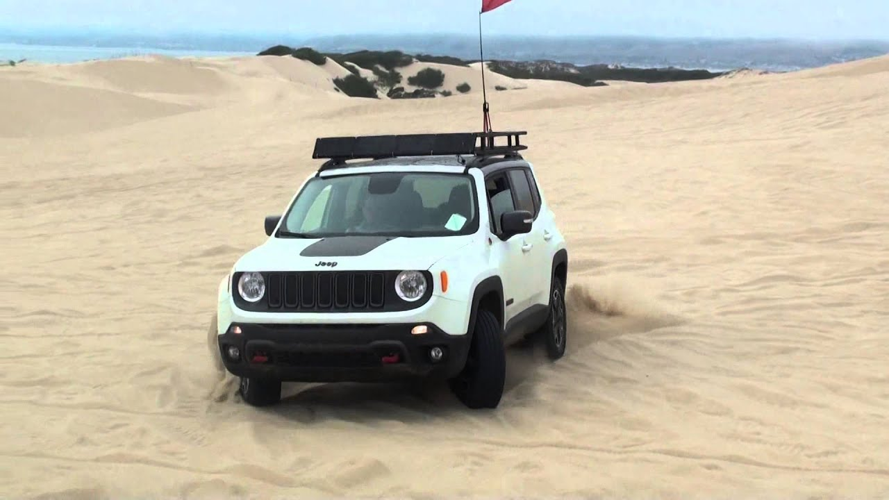 2015 jeep renegade trailhawk pismo beach youtube. Black Bedroom Furniture Sets. Home Design Ideas