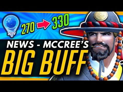 Overwatch | TIME FOR A McMETA? - McCree BUFF, OWL Away Skins, Season 14 & More