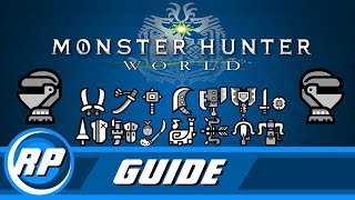 Monster Hunter World - Master Armor Progression Guide (Obsolete by patch 12.01)