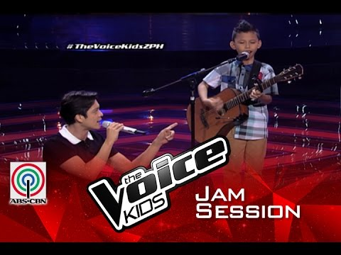 """The Voice Kids Philippines 2015 Blind Audition: Gian Sings """"Sunday Morning"""" With Coach Bamboo"""