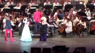 Fireworks Finale/Curtain Call/Jodi Benson Reveal - Little Mermaid Live at Hollywood Bowl 6/4/16