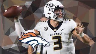 The Denver Broncos Draft Drew Lock