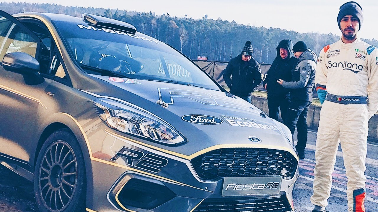 Testing The All New Ford Fiesta R2 With M Sport Youtube