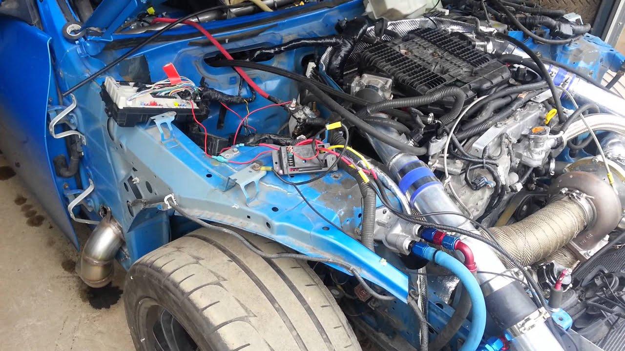 370z VQ37HR Single Front Mount Turbo 6266